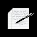 Note, Write icon
