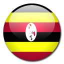 country, uganda, flag icon