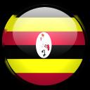 country, uganda, flag icon
