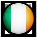 of, flag, ireland icon