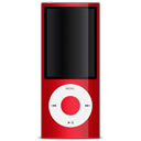 apple, red, ipod icon