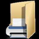 Filesystems folder print icon