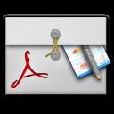 folio, acrobat, pro icon