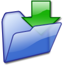 downloads, my downloads icon