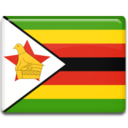 zimbabwe,flag,country icon