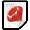application, ruby icon