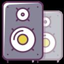 sound, appliance, musical speaker, music, technology, volume, play icon