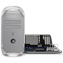 Power Mac G4 quicksilver open icon