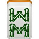 mahjong, bamboo icon