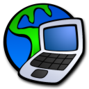 notebook to internet connection icon