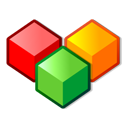 modules, boxes, colors, cool icon