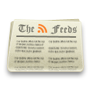 rss, paper, feed, feeds, news icon