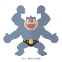 kanto, fight, machamp, pokemon icon