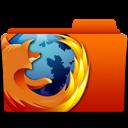 folder, firefox, browser icon