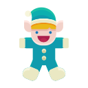 santa, winter, elf, christmas, child, toy, helper icon