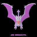 pokemon, rock, aerodactyl, kanto, flying icon