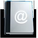 book, address, agenda, office icon