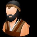 male, barbarian icon