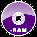 dvd, memory, ram, disc, mem icon