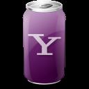 yahoo, drink icon