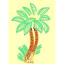 plant, palm, tree icon