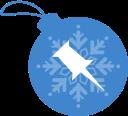 ball, pinboard, christmas icon