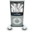 Ipod, Nano, Silver icon