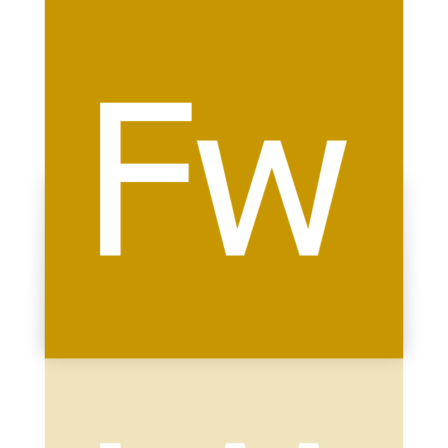adobe, fireworks, mirror icon
