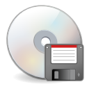 disk, disc, save icon