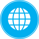 planet, network, web, world, globe, earth, global icon
