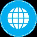planet, network, web, world, globe, earth, global icon