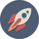 rocket, spaceship, spacecraft icon