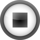 Actions media playback stop icon