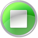 stop,pressed,button icon