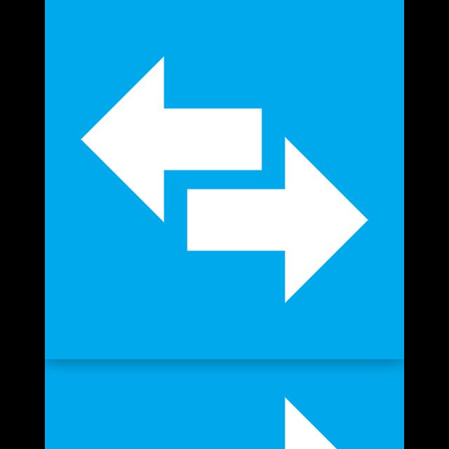 power, switch, mirror icon