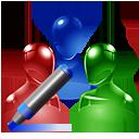 group, edit icon