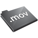 mov,grey icon