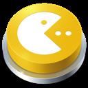 pacman, button, games icon