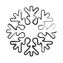 forecast, weather, christmas, winter, snow icon