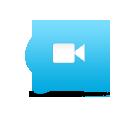 comment, video, speak, talk, chat icon