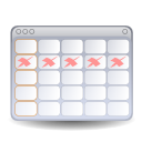 Calendar, Evolution icon