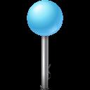 ball, map, marker, azure, lumina, base icon