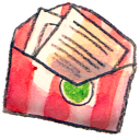 letter, message, envelop, email, mail icon