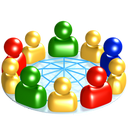 Network, Social icon