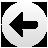 left, round, arrow icon