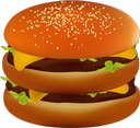 hamburger,mcdonald icon