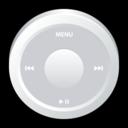 ipod,white,badge icon