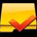 Checked, Folder icon