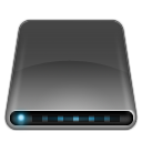 Drives External Drive Black icon