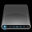 Drives External Drive Black icon